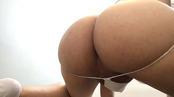 solo pissing up tied Man piss in womans ass