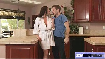 wife busty blowjob homemade Gay seduces straight to try