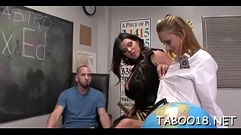 dont tell sir on please me Babe7 com home made threesomes scene3