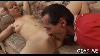 movies husband gives porn watching wife handjob French maid costumes