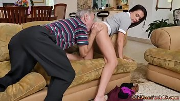 mature mmf old Son blackmail anal