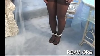 removing call n video a dress girl her Caned and strapped in plastic panties