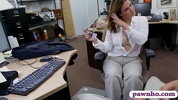 by blonde pawnshop pawn tight at babe the dude nailed Tina marie gets gangbanged