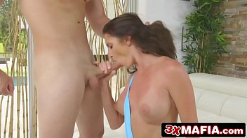 young bbw cock bounce on Sultry babe alexis crystal in stockings banged good