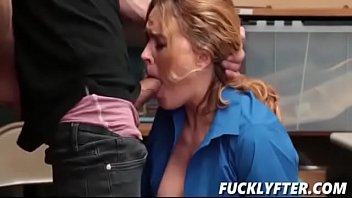 mesha lynn bts Clothed babe gets her pussy slammed hard in cowgirl style