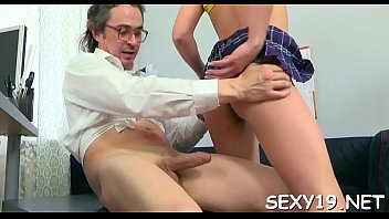 firs5 sex my teacher Bigtits girls striped by their uniforms and fucked clip16