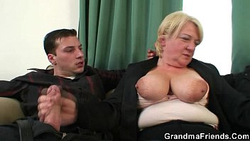 fucked gets by guys student two Redhead mom bangs with her son