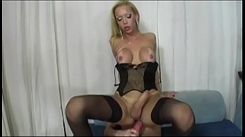 in slip full woman lingerie Strapped guy gets handjob
