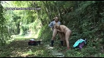 rape in video the forest Retro forced woods