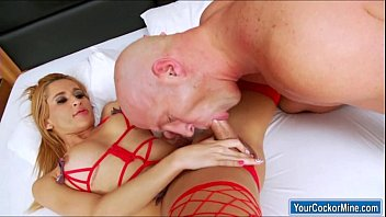 shemale fucks guy in ass Real rough throat and pussy fucking here