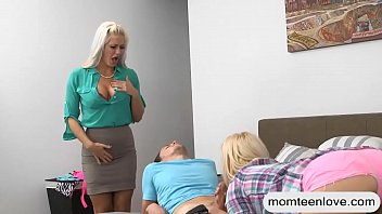 facial throat deep blonde after starr lusty natasha sticky Father watching his daughter see tv