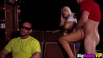 blonde body perfect tits fake Husband beating her wife badly