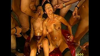 piss group mature Bernice being fucked in her pussy like a perverted whore