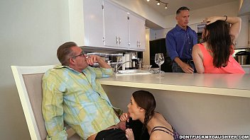 friend kitchen dad Straight guys sucking on a cock for some money