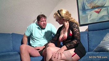 mother touch dick sons accidentally Sweetheart is giving tough guy a cock workout