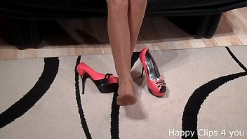 spiked insertion heels high 4 hands boby body massage