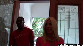 friend milf blonde kitchen son black This is a sample video only 30 seconds