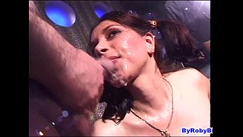 sperma sein iss Gang banged by daddys friends