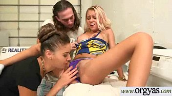 her rose gets paid girlfriend watches addison to while fuck Anal throat two huge cocks