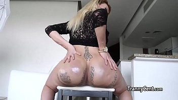 her makes him ass with cum First day on the job