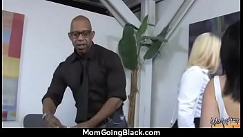 mom infront of white black rides cock son Pull out cum and fuck again anal