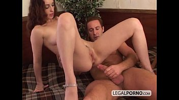 rubber penis brunette of smoke horny Watching frieds fuck
