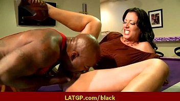 cock black porn girl on interracial big 10 horny Housewife has pussy played with