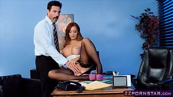 white in high stockings and fucking heels thigh Devon cum in mouth