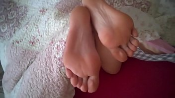 sexy bare feet Asian panty rope submission