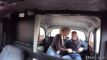 cums taxi driver fake Milf couch jerk off instruction