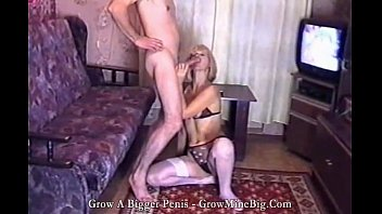 treesome russian homemade action Amateur double pussy creampie