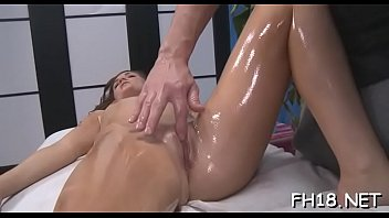 oiled nice her lexxxi booty and lockhart Rub dick on clothed wife