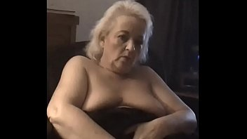 fatty grandma back the on fuck grandpa Very young with old
