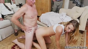 girl sex man having and old sucking Big tits teases