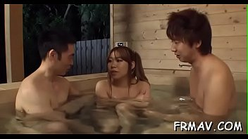 counter cashier japanese Wife unknowingly getting fucked