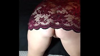 lingerie wife milf Cockold husband humiliation