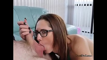 fuck guy strap Girl with pierced nipples and clit